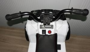 Детский квадроцикл ATV Motax mini для детей от 2 лет белый 2