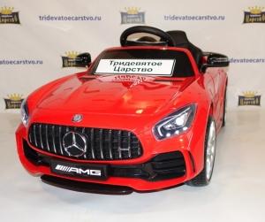 Детский электромобиль Mercedes Benz GTR - HL-288 красный, черный, белый и зеленый AMG GT R в Ростове на Дону
