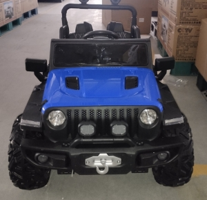 Электромобиль двухместный 4х4 Wrangler HC-8988 синий