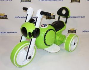 Детский электромотоцикл Bubble Cocmo белый, зеленый, оранжевый и розовый в Ростове на Дону
