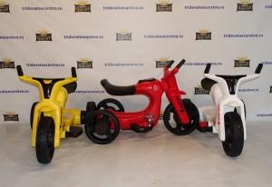 Детский электромотоцикл next 100 SW168 белый красный желтый в Ростове на Дону