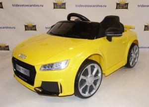 Детский электромобиль audi TT RS JE1198 (лицензия) в Ростове-на-Дону лицензия синий красный желтый белый
