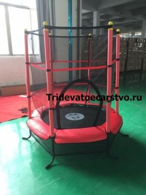 Батут детский 140 см 5 ft - с защитной сеткой в Ростове-на-Дону