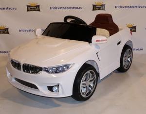 Детский электромобиль BMW 5 серии (525) в Ростове на Дону белый