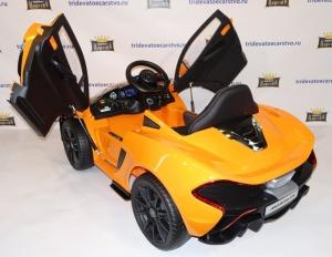 Детский электромобиль McLaren p1 - Chi Lok Bo 672 (Лицензия) желтый и оранжевый в Ростове на Дону