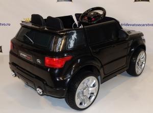 Детский электромобиль Range Rover E004EE оранжевый, белый и черный в Ростове-на-Дону