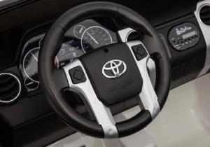 Детский электромобиль Toyota Tundra JJ2255 2 места (Лицензтя) белая в Ростове на Дону
