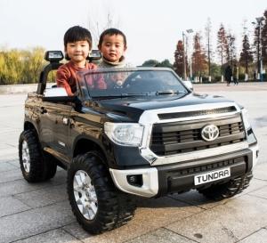 Детский электромобиль Toyota Tundra JJ2255 2 места (Лицензтя) черная в Ростове на Дону