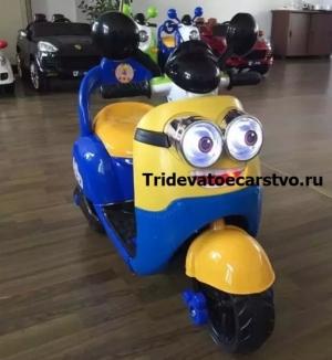 """Детский мотоцикл """"Миньон"""" Е003КХ с пультом управления"""