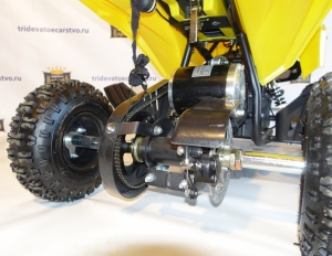 Детский электрический квадроцикл KXD - ATV - 6E 36V 800W желтого цвета в Ростове-на-Дону
