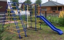Игровой комплекс - Непоседа-Дачник № 9 с горкой