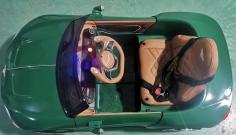 JE1166 - зелёный детский электромобиль bentley exp 12