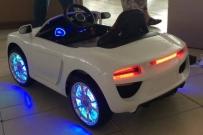 Детский электромобиль BMW CH6688 белый и синий в Ростове на Дону
