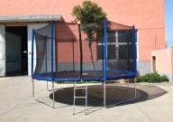 Батут Trampoline 14' ft 427 см с защитной сеткой