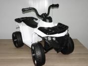 Детский квадроцикл ATV Motax mini для детей от 2 лет белый 1