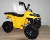 Детский квадроцикл ATV Motax mini для детей от 2 лет жёлтый 2