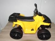 Детский квадроцикл ATV Motax mini для детей от 2 лет жёлтый 3