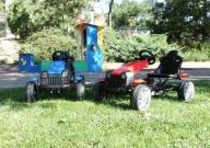 Веломобиль детский HC-002 педальный багги