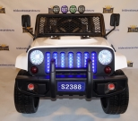 Детский электромобиль Jeep Willys Т008ТТ 4х4 полный привод черный, белый и красный в Ростове на Дону