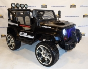 Детский электромобиль Jeep Willys Т008ТТ 4х4