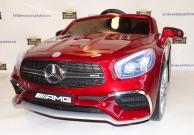 Детский электромобиль Mercedes Benz SL65 amg vip ЛАК