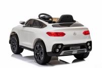 Детский электромобиль Mercedes Benz GLC 63 AMG Белый лицензия Ростов на дону