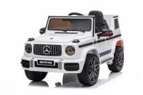 Детский электромобиль Mercedes Benz G63 AMG BBH-0002 Белый Гелендваген с лицензией Ростов на дону