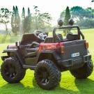 Электромобиль двухместный 4х4 Wrangler HC-8988 красный