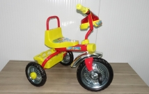 """Детский трёхколесный велосипед """"Дружок светлячок"""""""