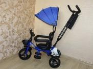 Детский трёхколесный велосипед - Lexus Trike синий