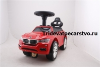 Толокар - детская машинка каталка БМВ с резиновыми колесами от 1 года, купить недорого.