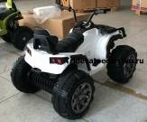 Детский электрический квадроцикл от 3 лет ATV-100 на 12V с резиновыми колесами