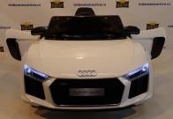 Детский электромобиль Audi r8 spyder - Лицензия JiaJia JJ2198 белы, синий и черный в Ростове на Дону
