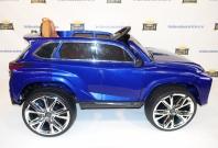 Детский электромобиль Lexus e111kx - NX200T синий и белый в Ростове на Дону
