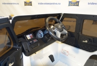 Детский электромобиль Mercedes Benz G65 AMG белый vip лицензия в Ростове-на-Дону