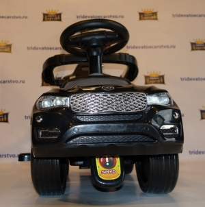 Толокар - детская машинка каталка Ягуар с родительской ручкой