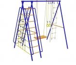 Игровой комплекс - Непоседа-Дачник № 5 с сеткой для лазания