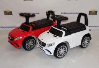Машинка каталка Mercedes Benz GLE 63 AMG (толокар) 6557 с кожаным сиденьем (Лицензия)