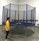 """Батут спортивный с защитной сеткой """"Trampoline 12"""" диаметр 3,7 м"""