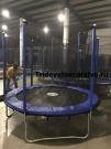 """Батут спортивный с защитной сеткой """"Trampoline 8"""" диаметр 2,4 м"""