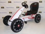 Веломобиль детский Abarth PB9388A - педальная машинка багги