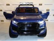 Детский электромобиль Ford Ranger 2017 крашенный синий и красный