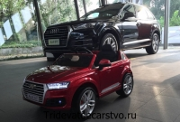 Дедский электромобиль Audi Q7 new