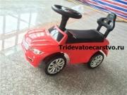 Толокар - детская машинка каталка Ягуар на резиновых колесах