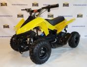 Квадроцикл детский электрический KXD-ATV-6E 36V 800W желтый